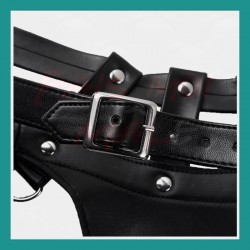 Bracelet Nylon Ancre noir